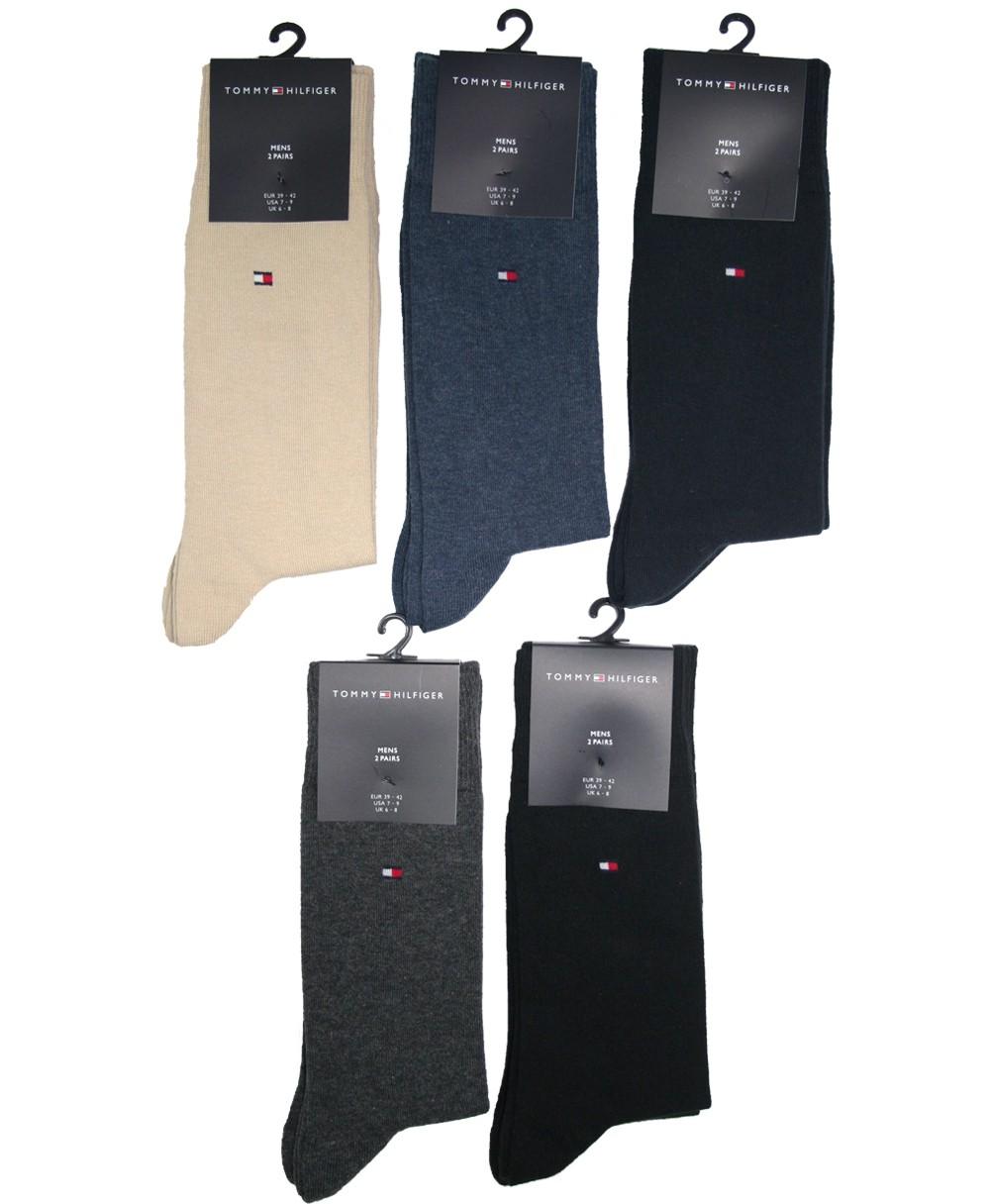 2er pack tommy hilfiger socken classic 371111 gr e und farbe w hlbar ebay. Black Bedroom Furniture Sets. Home Design Ideas