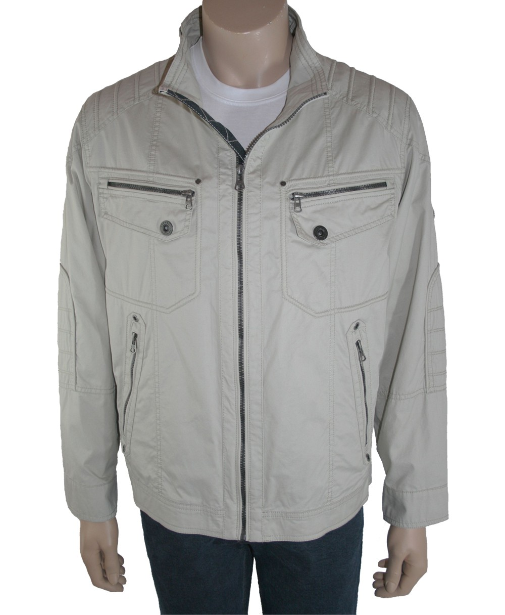 cabano herren sommer jacke blouson new canadian 2105 beige ebay. Black Bedroom Furniture Sets. Home Design Ideas